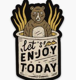 Loving WV Enjoy Today Sticker
