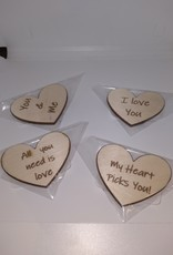 Davisyard Heart magnets