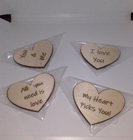 Davisyard Heart magnets