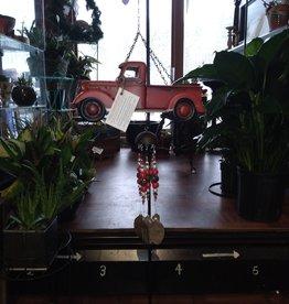 Hidden Treasures Hidden Treasures Red Truck w/ Tree Chime