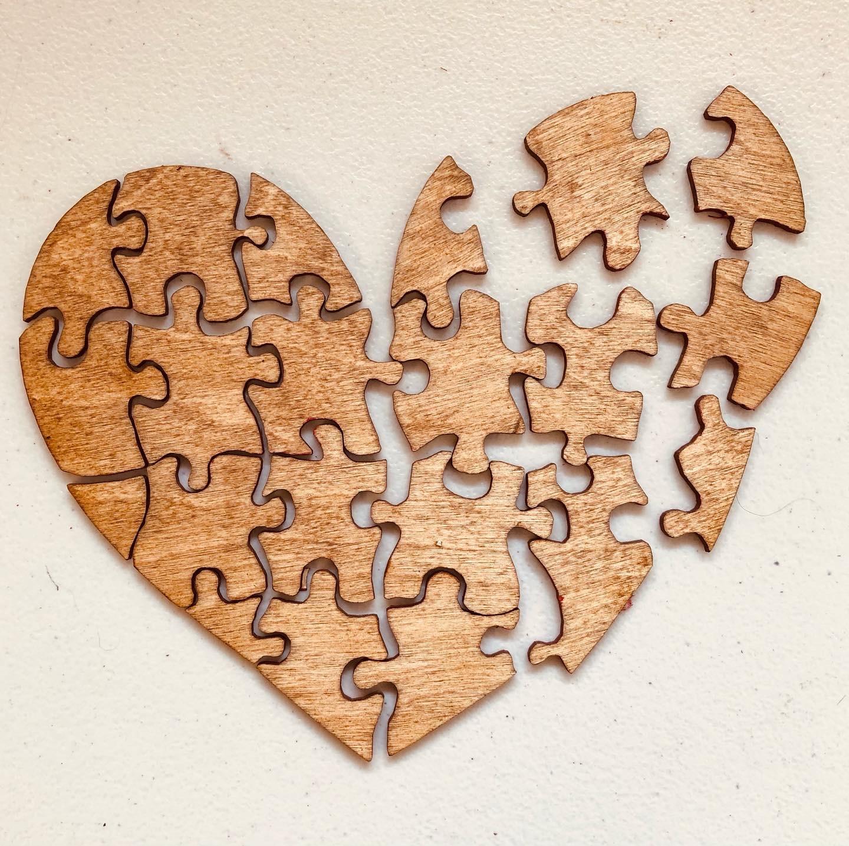 Davisyard Heart Puzzle (Soiled Puzzle )