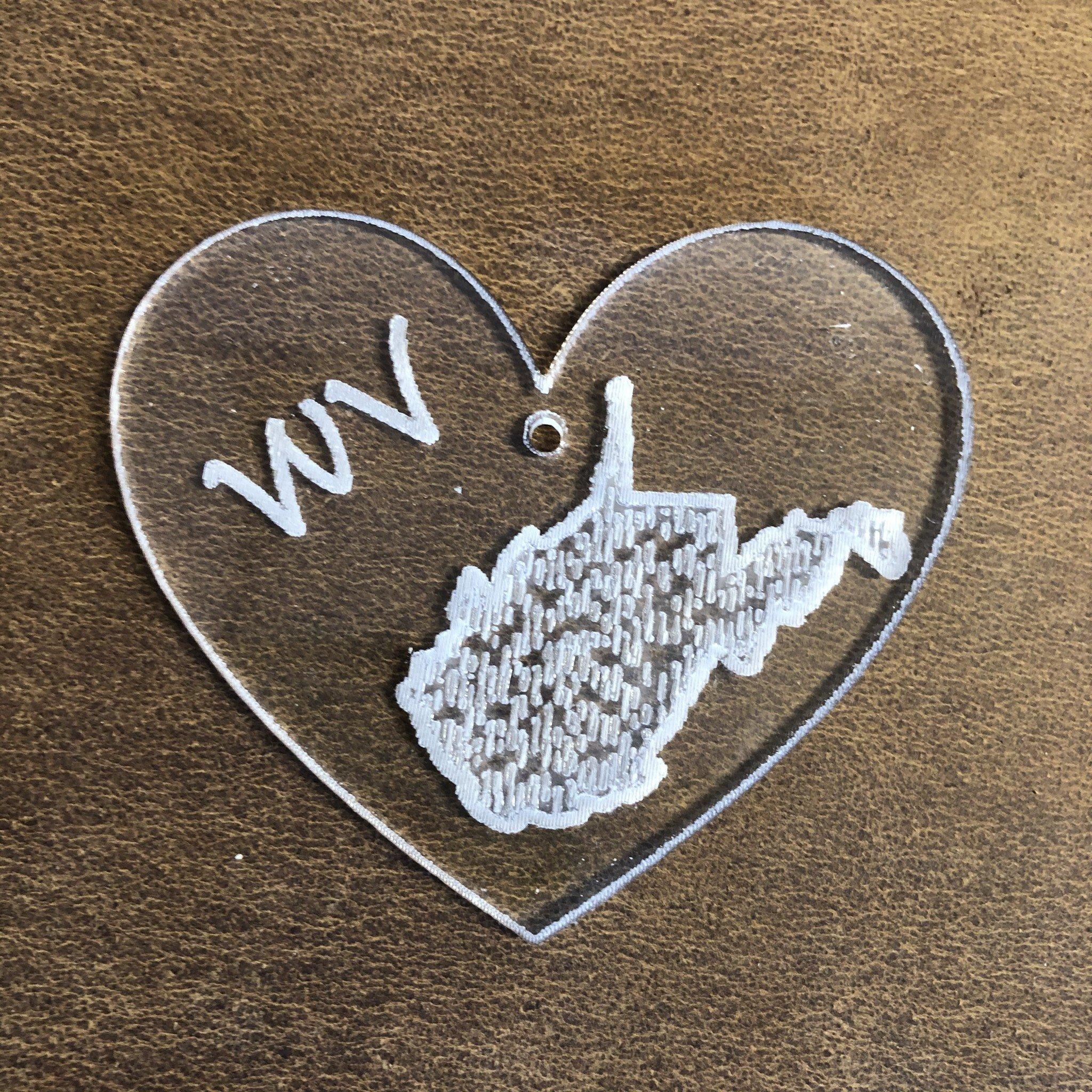 Davisyard WV State Heart