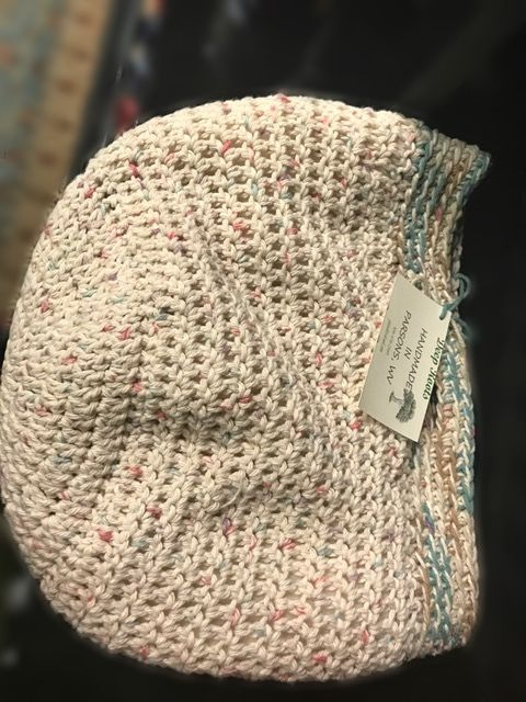 Deep Roots knitted baskets
