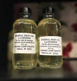 Smoke Camp Herbal Skin Oil-Lavender 4 oz