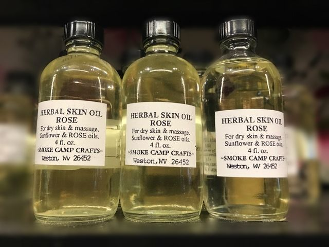 Smoke Camp Smoke Camp Herbal Skin Oil Jasmine 4oz