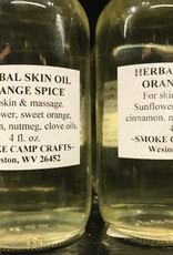 Smoke Camp Smoke Camp Herbal Skin Oil-Orange Spice 4oz