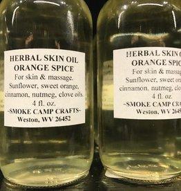 Smoke Camp Herbal Skin Oil-Orange Spice 4oz