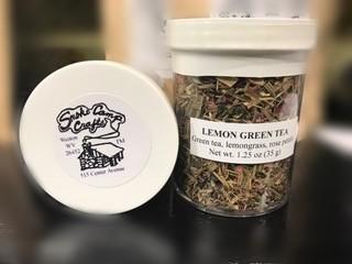 Smoke Camp Smokecamp Lemon Green Herbal Tea Blend