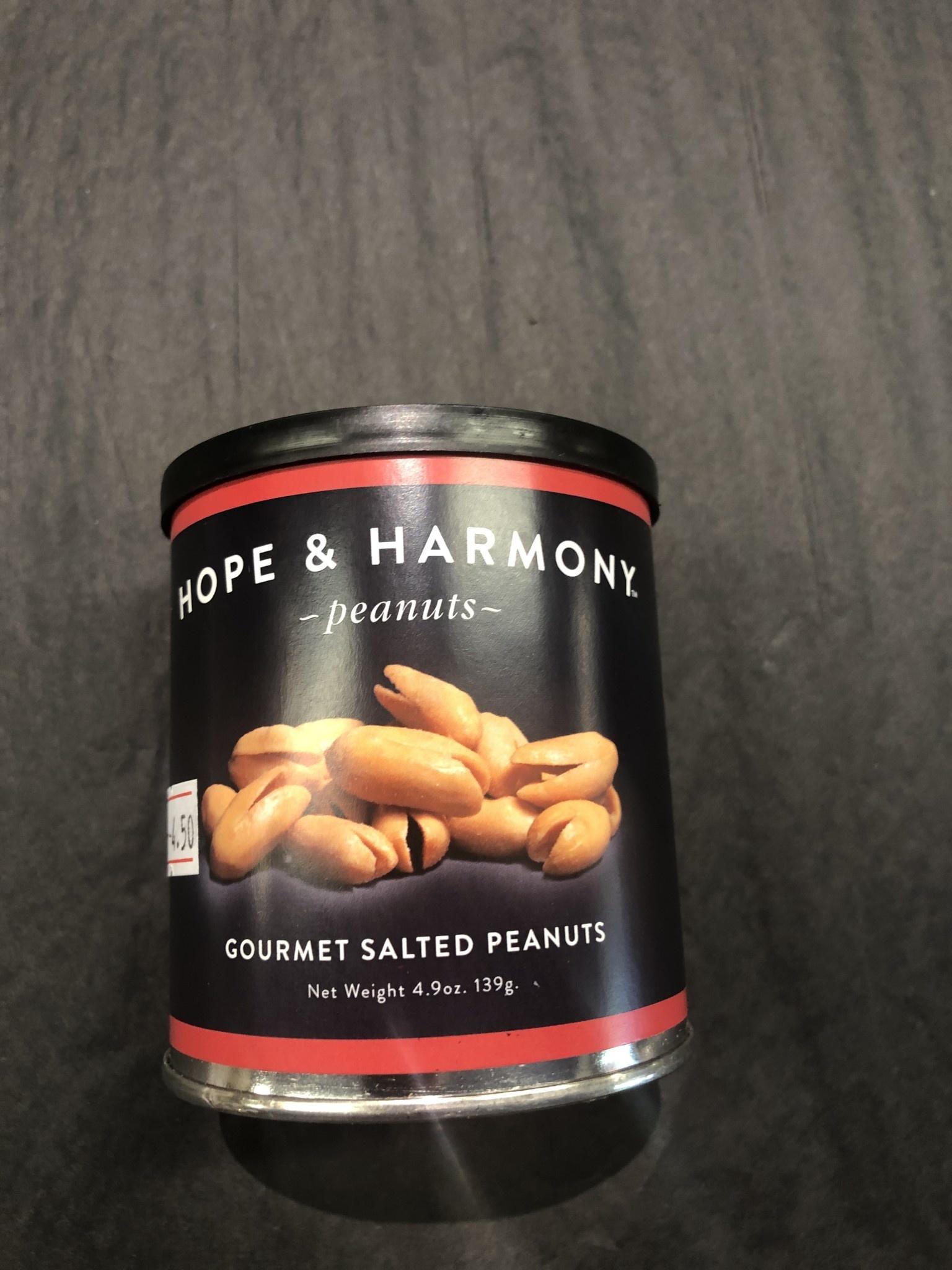 Plantation Peanuts of Wakefield Plantation Peanuts Hope & Harmony 4.9 oz. Gourmet Salted Peanuts