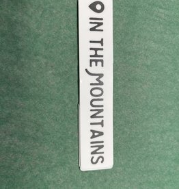 The Hippie's Daughter In the Mountains Sticker