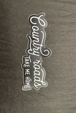 The Hippie's Daughter Country Roads Sticker