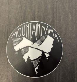 The Hippie's Daughter Mountain Mama Sticker
