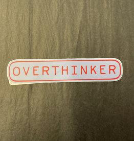 The Hippie's Daughter Overthinker Sticker