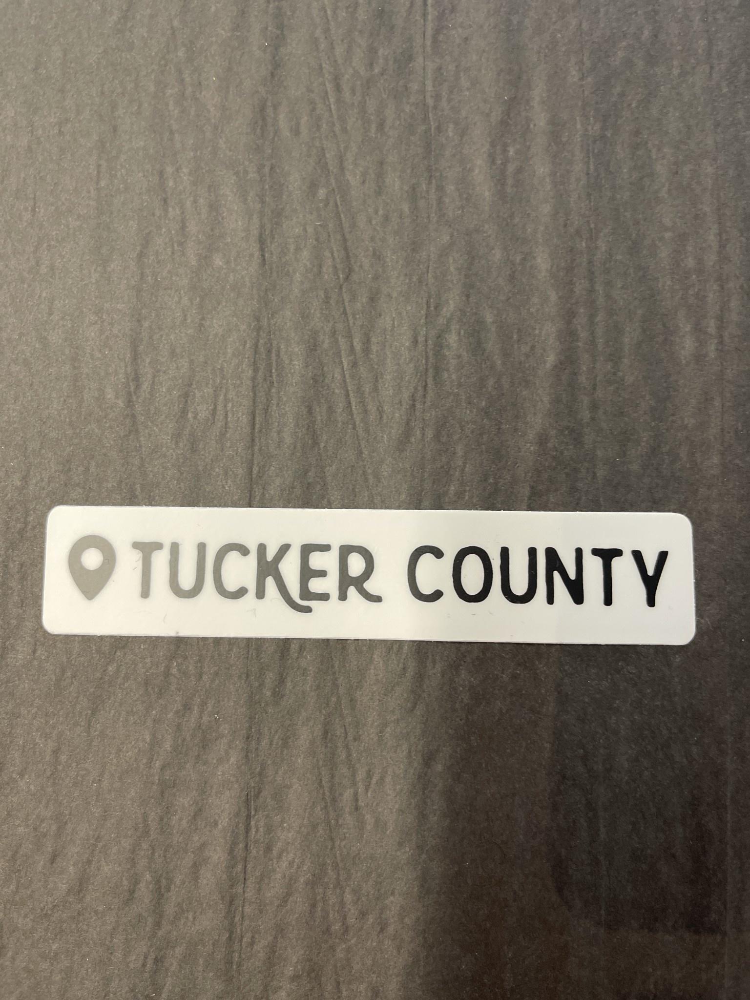 The Hippie's Daughter Tucker Co. Location Sticker