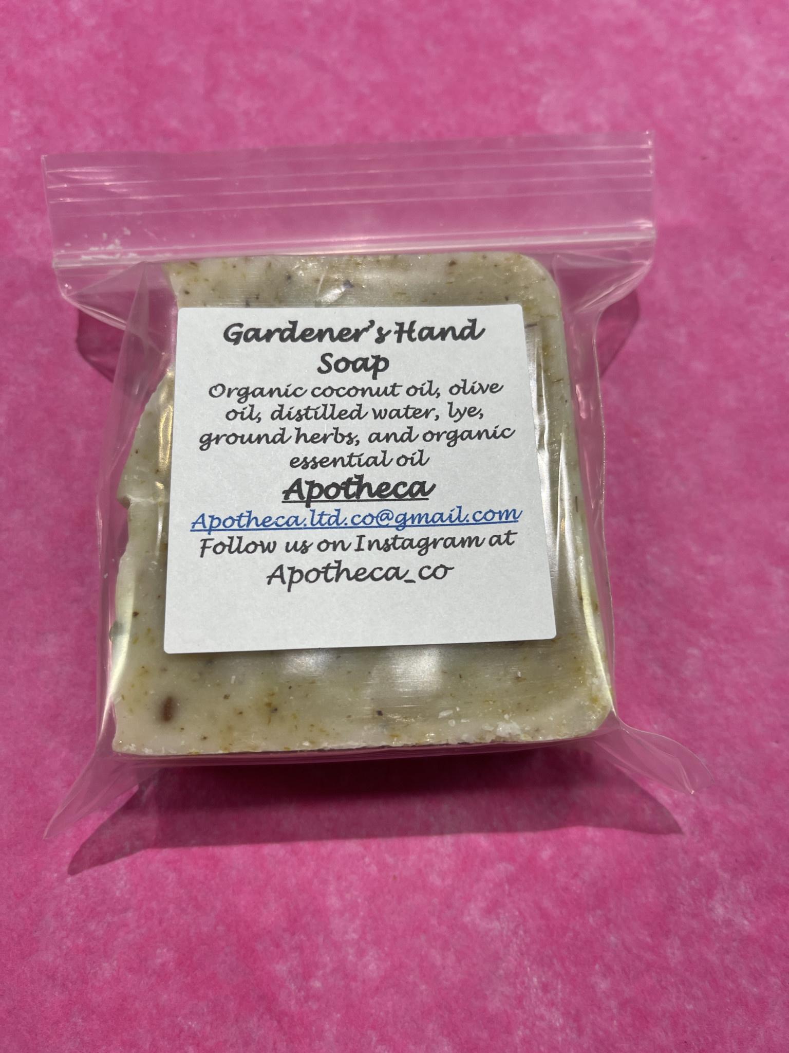 Apotheca Apotheca Gardener's Hand Soap