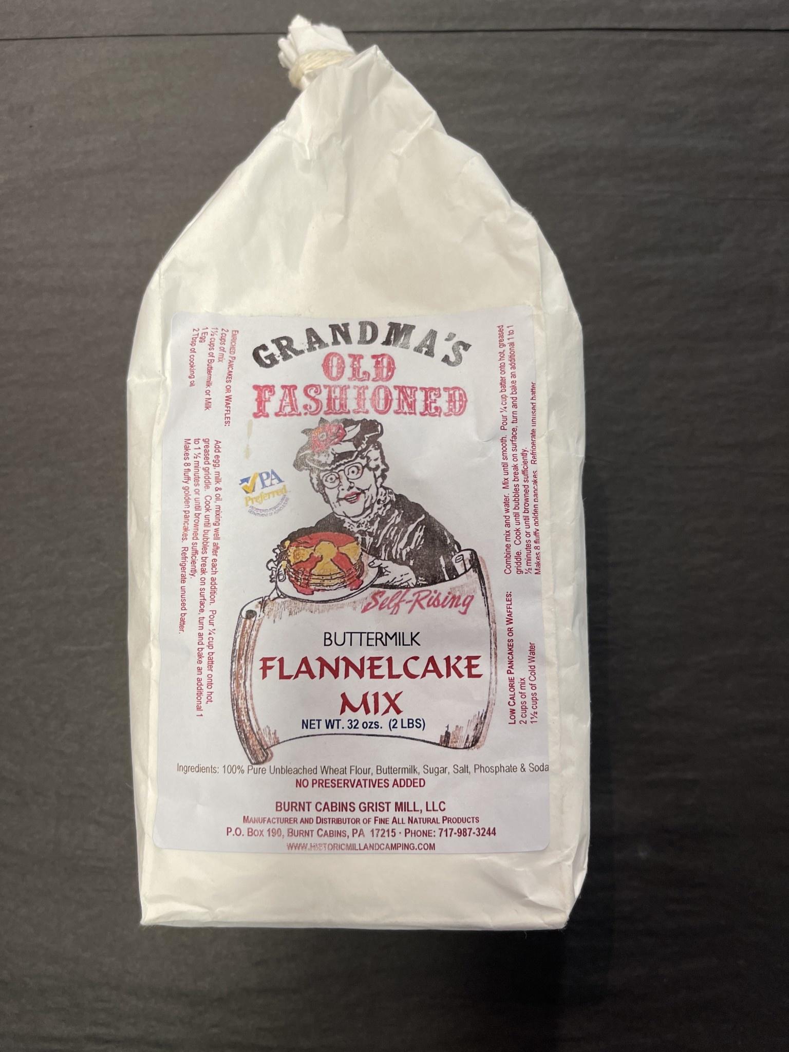 Burnt Cabins Grist Mill FlannelCake Mix