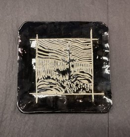 Nanette square plate - dolly sods