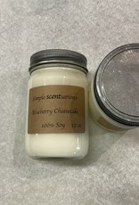 Simple Scentsation Blueberry Cheesecake 16 oz. soy candle