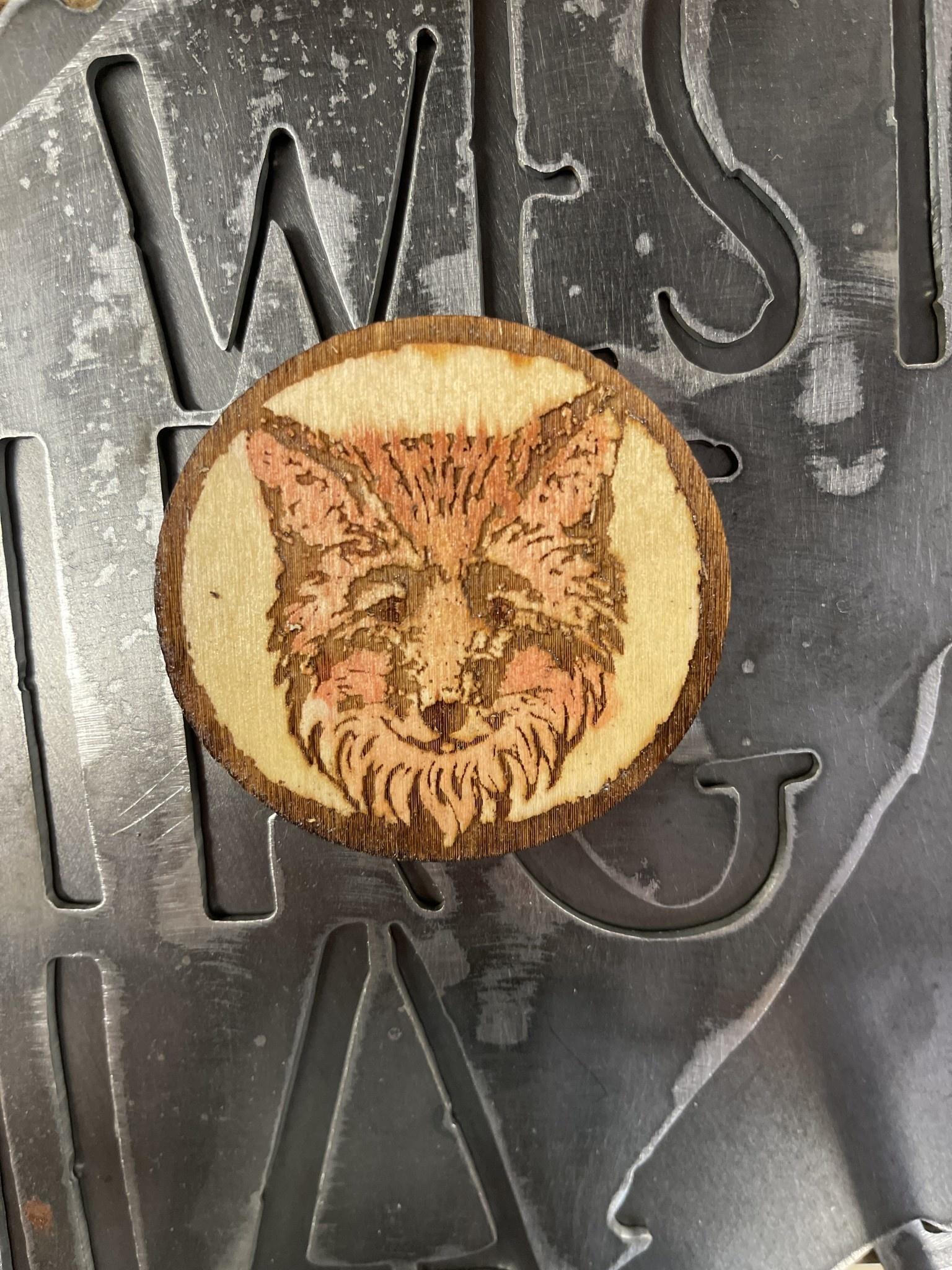 Fox- Local Wildlife Magnets