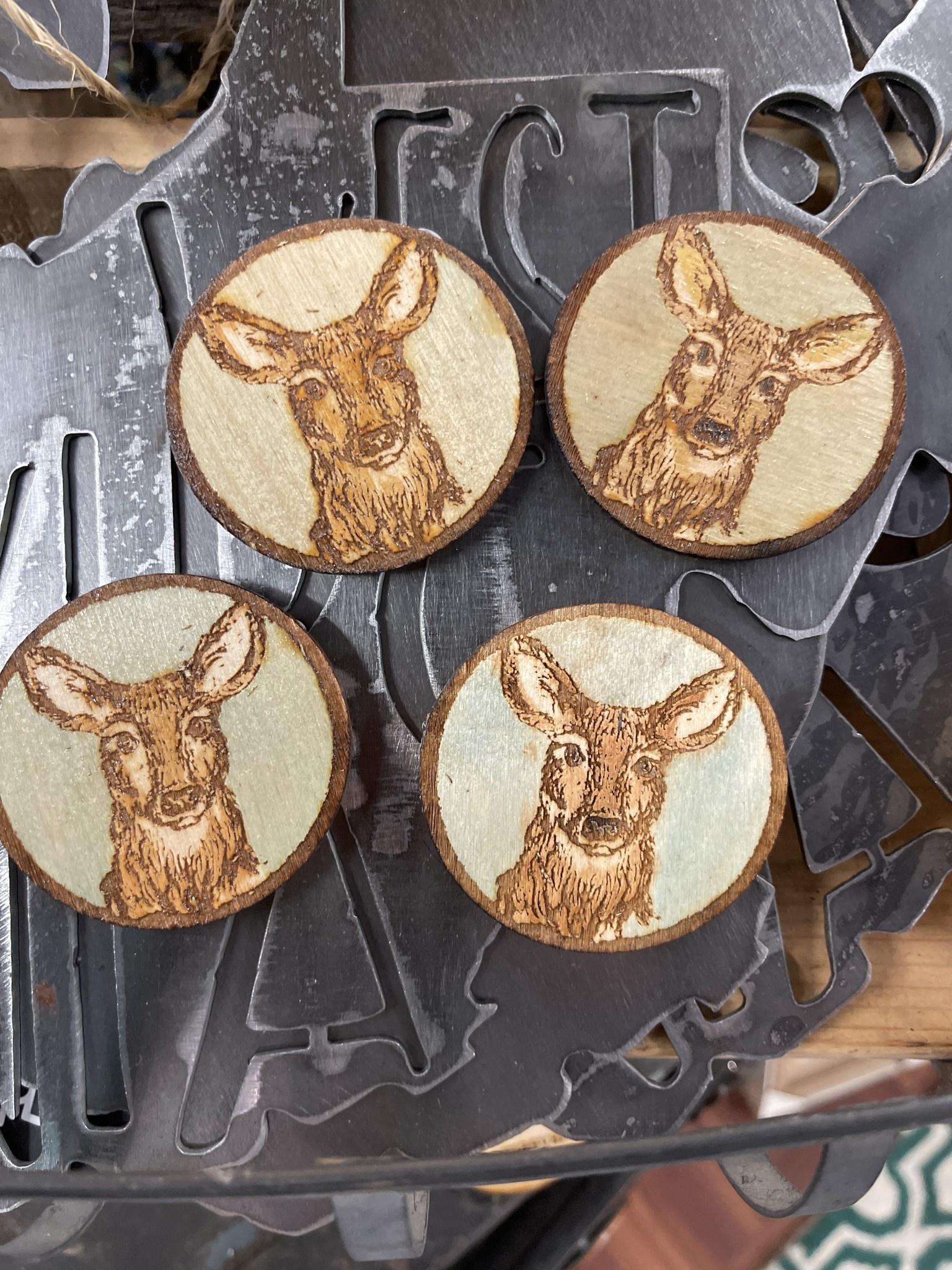 Deer- Local Wildlife Magnets