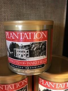 Plantation Peanuts of Wakefield Plantation Peanuts Roasted Redskins 12 oz