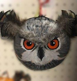 Maggi Rhudy Maggi Gourd Mask Grandma Owl
