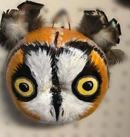 Maggi Rhudy Maggi Gourd Mask Long Eared Owl