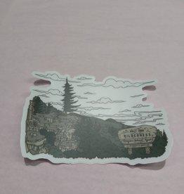 Wild & Wonderful Lifestyle Company Bear Rocks  Sticker