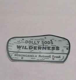 Wild & Wonderful Lifestyle Company Dolly Sods Sign Sticker