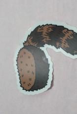 Wild & Wonderful Lifestyle Company Coon Skin Cap Sticker