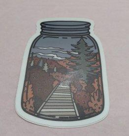 Wild & Wonderful Lifestyle Company Mason Jar Glades Sticker