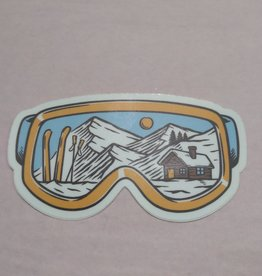 Wild & Wonderful Lifestyle Company Goggles Sticker