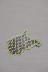 Loving WV State Flower Sticker