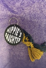 The Hippie's Daughter Mini Macrame Keychain WV Colors