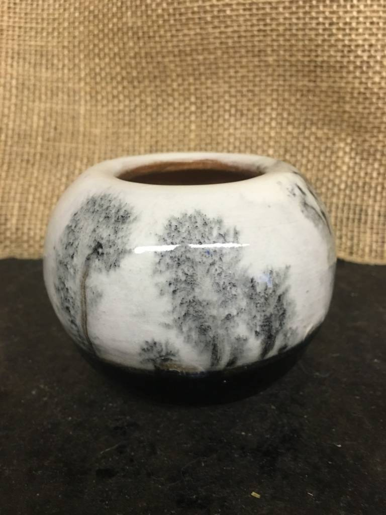 Winter Ceramic Vase Small