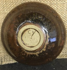 Ceramic Bowl - Brown (handmade)