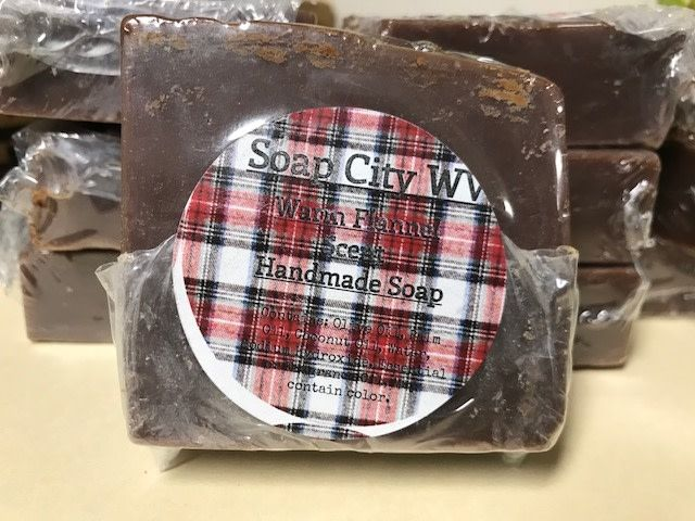 Soap City WV Warm Flannel