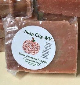 Soap City WV Sweet Cinnamon Pumpkin