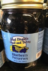 West Virginia Fruit and Berry WVF&B 20 oz. Blueberry Preserves