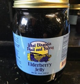 West Virginia Fruit and Berry WVF&B 20 oz. Elderberry Jelly