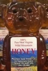 Mountain State Honey Company 12 oz. Tulip Poplar Bear WV Honey