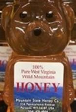 Mountain State Honey Company 8 oz. Tulip Poplar Bear WV Honey