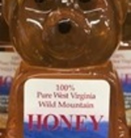 Mountain State Honey Company 8 oz. Tulip Poplar Bear WV Honey