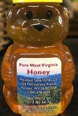 Mountain State Honey Company Mtn State Honey 2 oz. Wildflower Bear