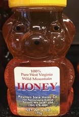 Mountain State Honey Company Mtn State Honey 6 oz. Sourwood Mix Bear