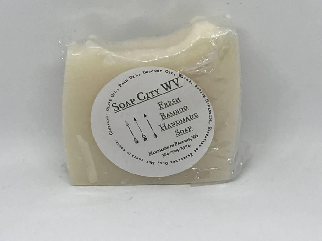 Soap City WV Fresh Bamboo