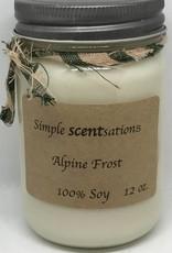 Simple Scentsation Alpine Frost 12oz.