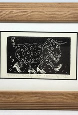 Maggi Rhudy Maggi Prints Dancing Sheep Small