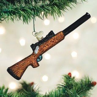 Old World Christmas RIFLE ORNAMENT