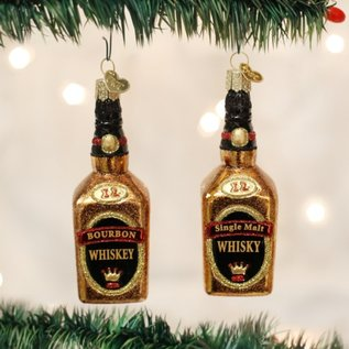Old World Christmas WHISKEY ORNAMENT
